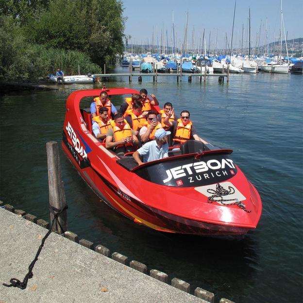 Jet Boat sur le lac de Zurich (2 pers)