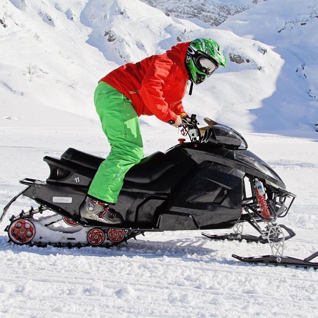 Snowmobile à Engelberg (1 personne)