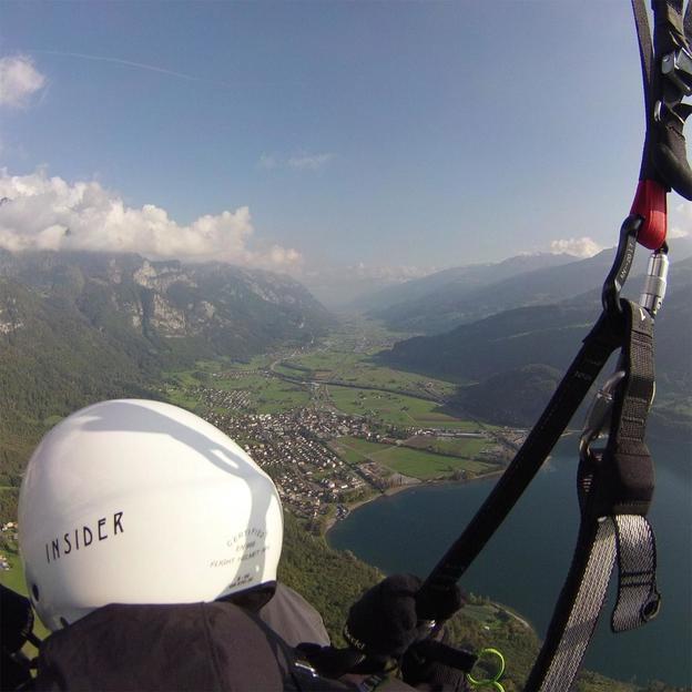 Gleitschirm Schnupperkurs in der Ostschweiz