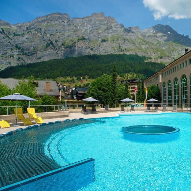 Day Spa Walliser Alpentherme & Spa in Leukerbad