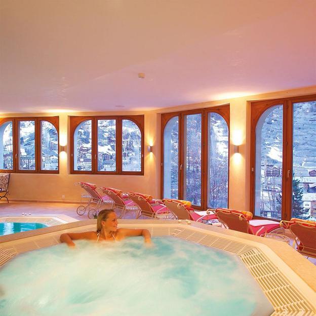 Genuss und Entspannung am Fusse des Matterhorns