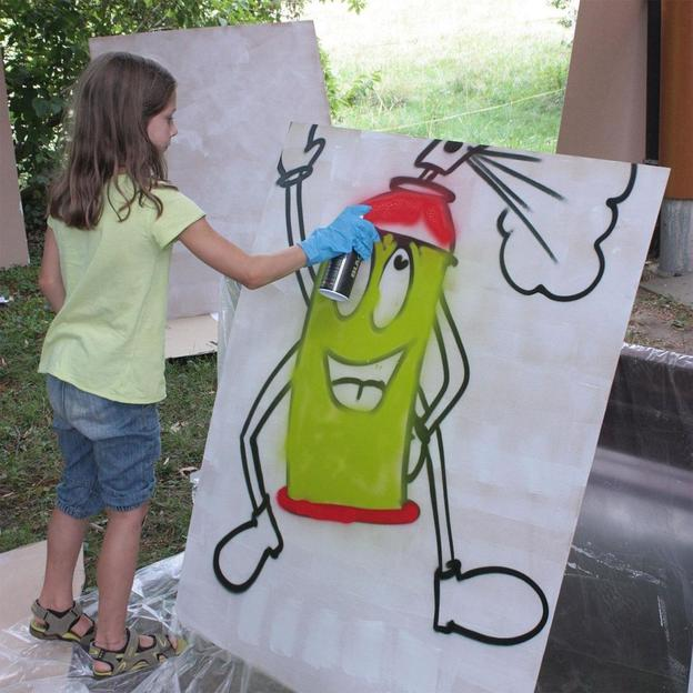Graffiti / Streetart Schnupperkurs