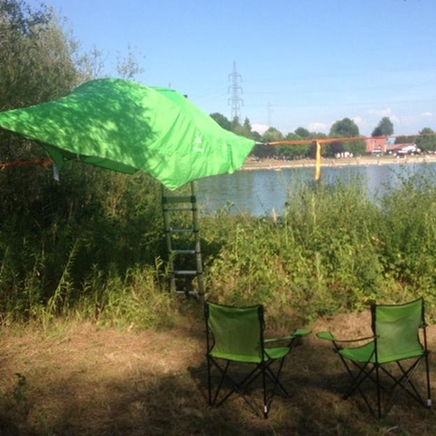 Übernachtung im Baumzelt (Elsass)