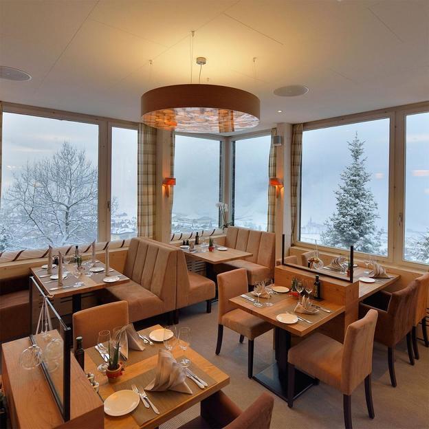 Nuitée de luxe avec spa et repas à Engelberg (2 pers.)