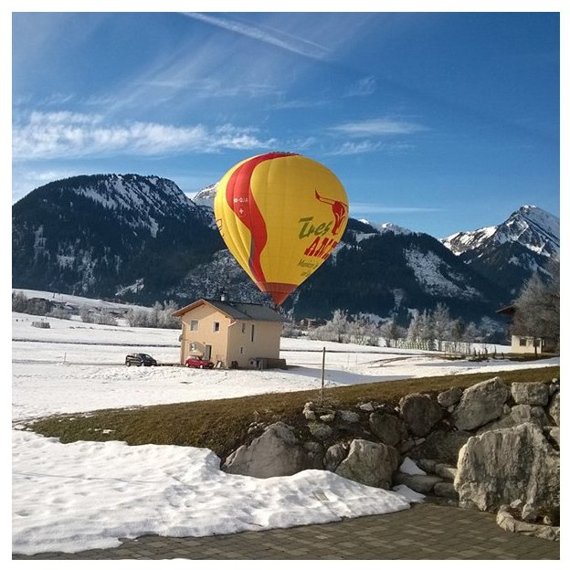 Ballonfahrt im Heissluftballon
