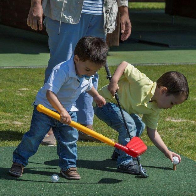 Schnupperkurs im Golfpark Holzhäusern