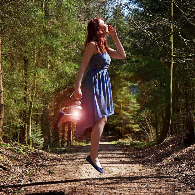 Ein Traum vom Fliegen - Fotoshooting
