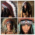Aussergewöhnliches Indianer Fotoshooting