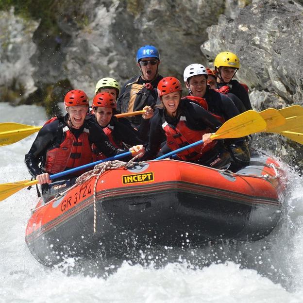 River Rafting Halbtagestour Scuolerschlucht