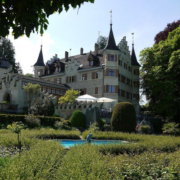 Brunch dominical au château Seeburg (lac de Constance)