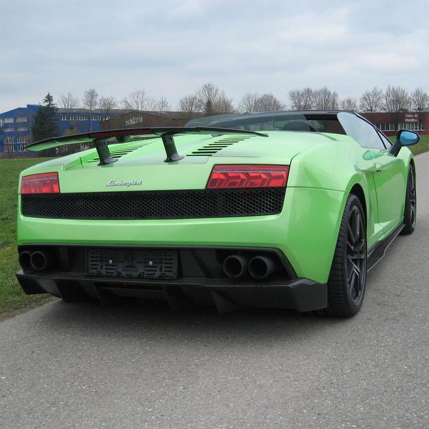 Lamborghini Gallardo LP-570-4 Spyder 4 Stunden