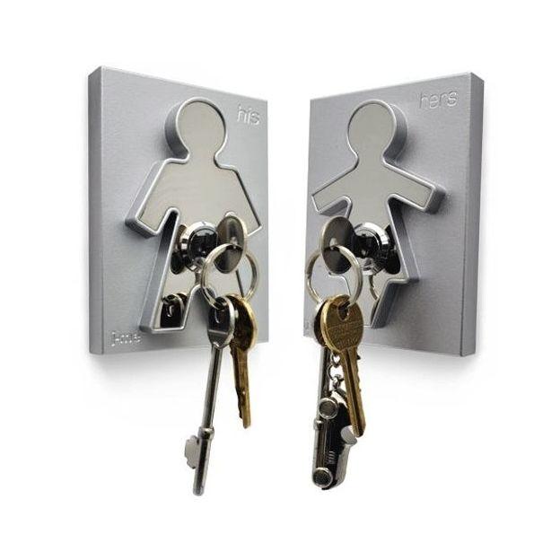 Schlüsselhalter His und Hers
