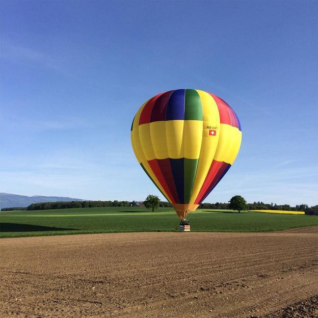 Ballonfahrt im Kanton Freiburg