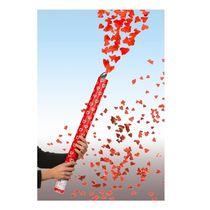 Konfettikanone Herz- und Rosenregen