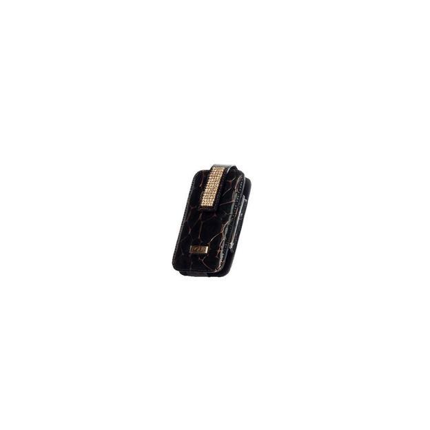 iPhone 3/4 Etui mit Swarovskikristallen