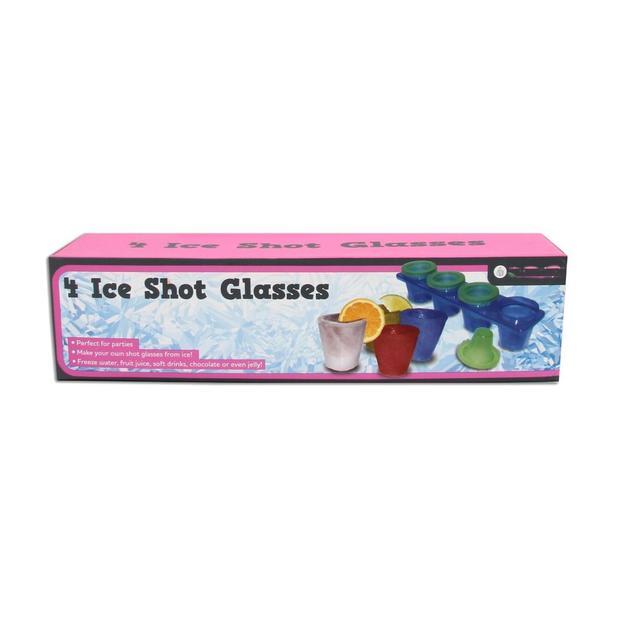 Shot-Becher aus Eis