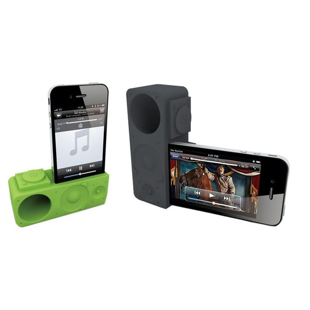 Ozaki iPhone 4/5 Verstärker iCarry Time2Boom