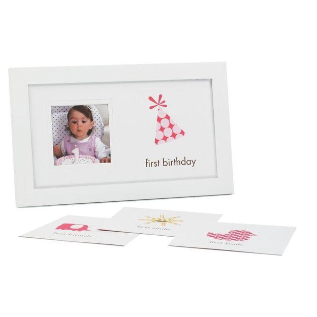 Baby Bilderrahmen First Frame mit austauschbaren Beschreibungen
