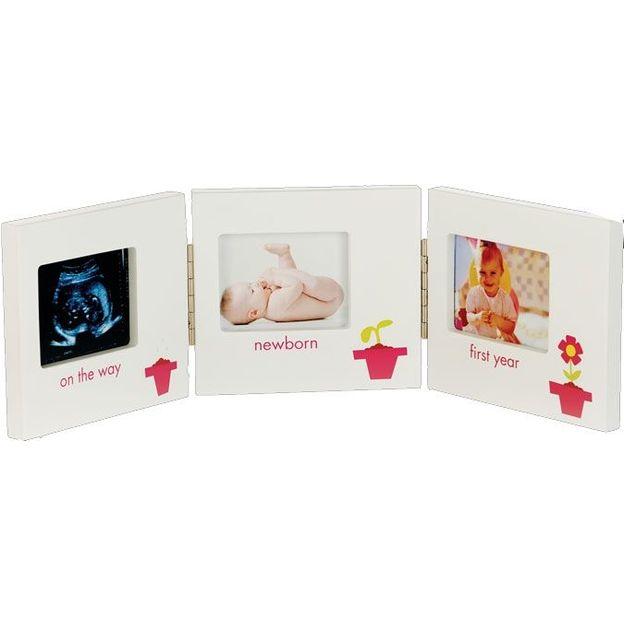 3-Teiliger Baby Bilderrahmen