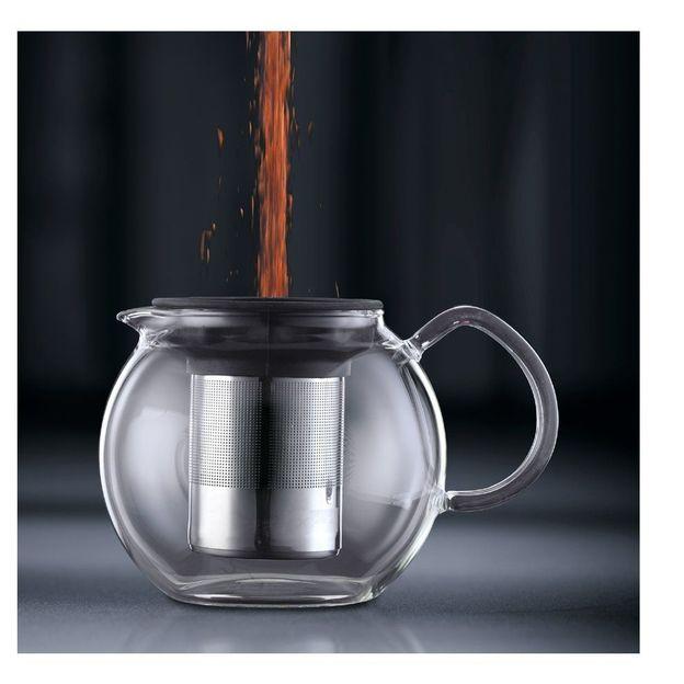Bodum -Théière à piston Assam avec filtre inox
