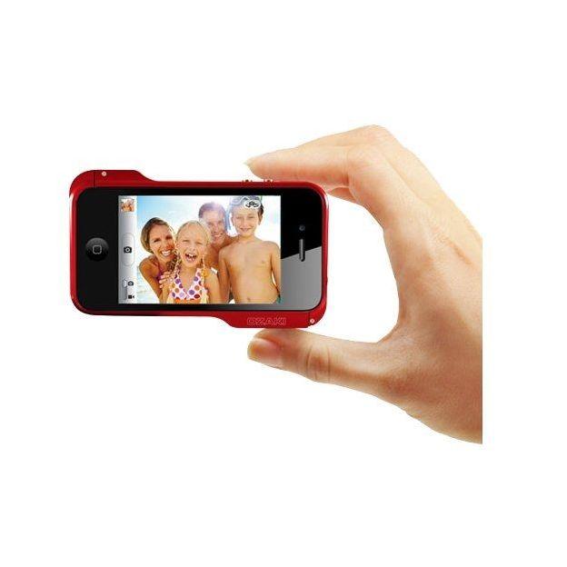 Ozaki iPhone 4 Schutzhülle o!photo Bumper