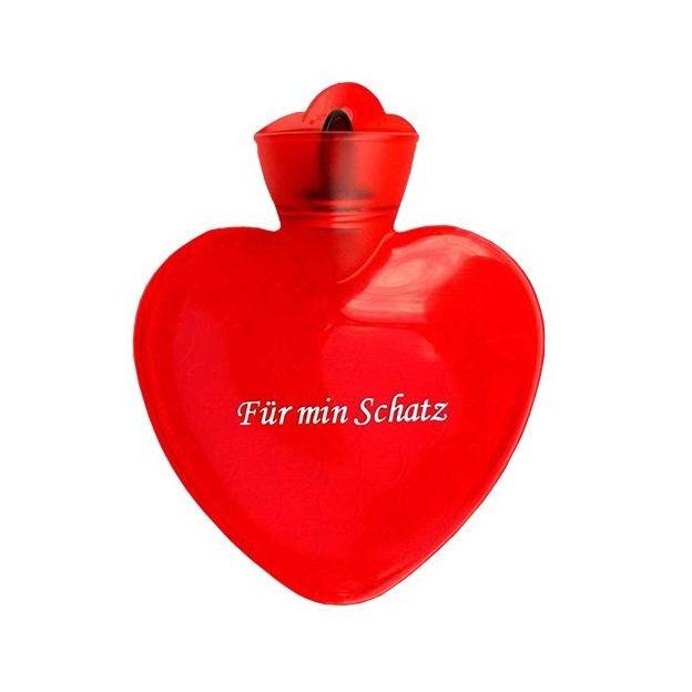 Herz Bettflaschen mit heissen Sprüchen