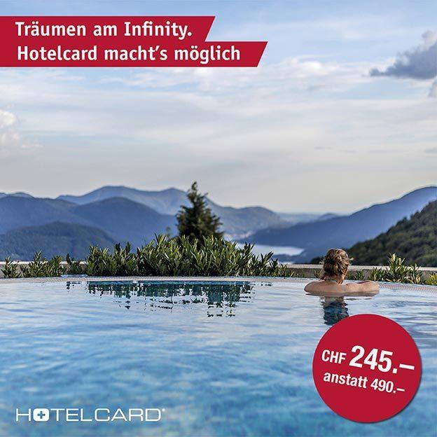 Hotelcard annuelle, le demi-tarif pour hôtels