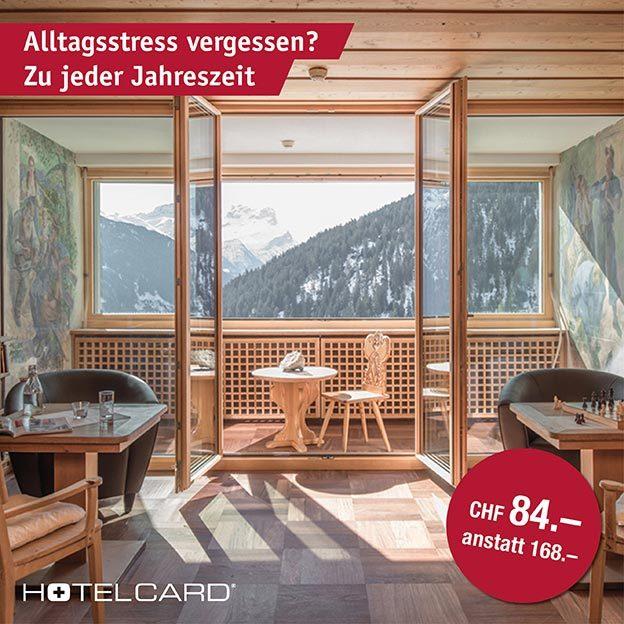 Hotelcard, das Halbtax für Hotels