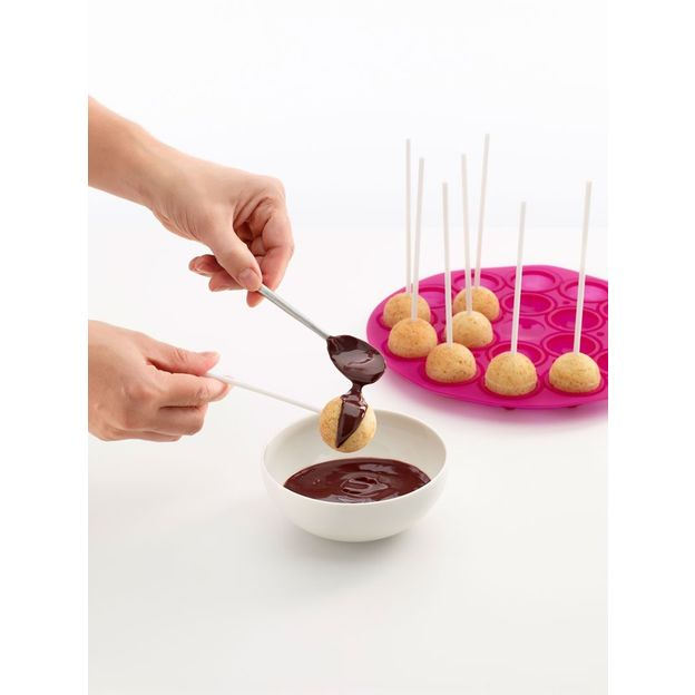 Backform Cake Pops von Lékué