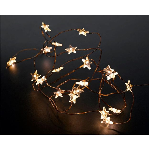 Guirlande lumineuse sur fil de cuivre