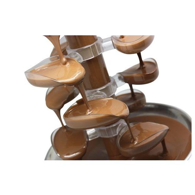 Schokoladenbrunnen mit Stufen