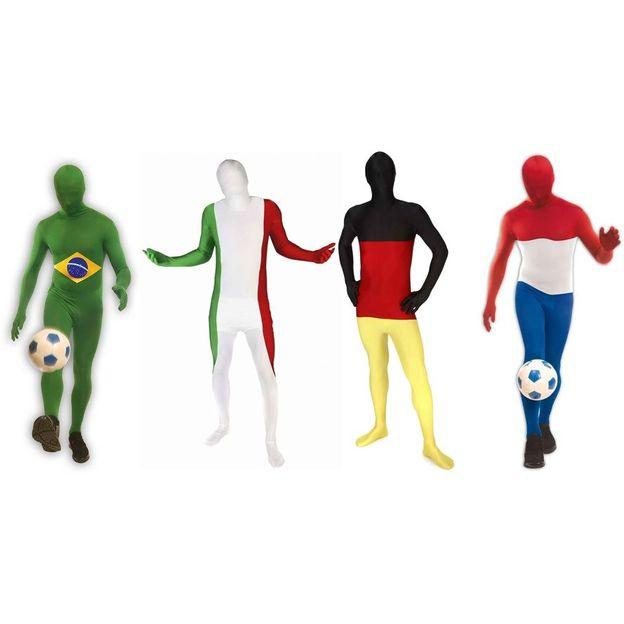 Morphsuit couleurs nationales Coupe du monde