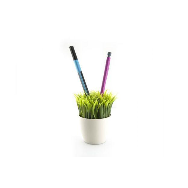Pot à crayon Herbe