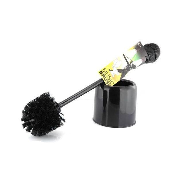 Toilettenbürste Mikrofon