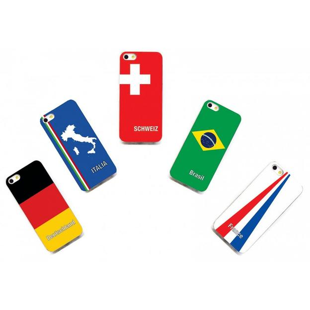 Housse LED iPhone 5 Nations foot