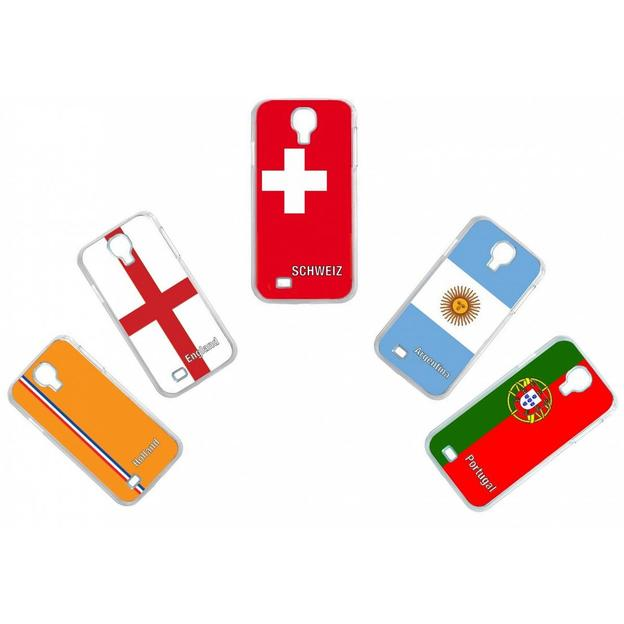 Housse LED Samsung S4 Nations foot