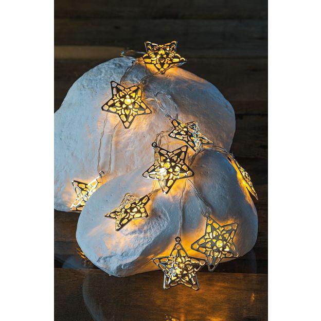 Guirlande lumineuse Emily Coeurs ou Etoiles
