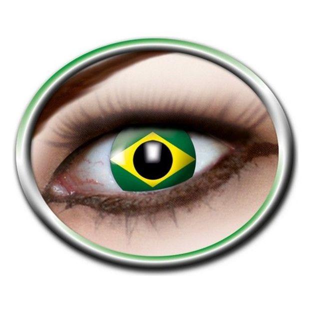 Lentilles fantaisie Brésil