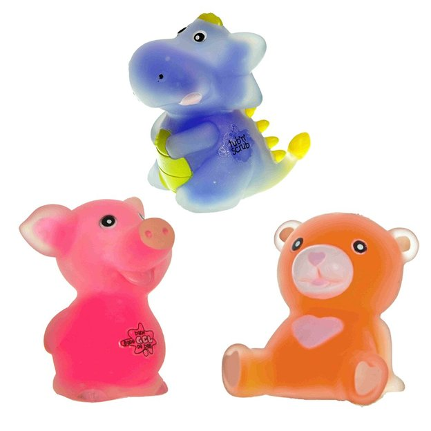 Berlingots gel douche animaux