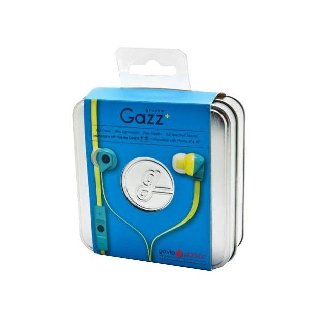 Écouteurs in ear Gavio Gazz+ à câble plat