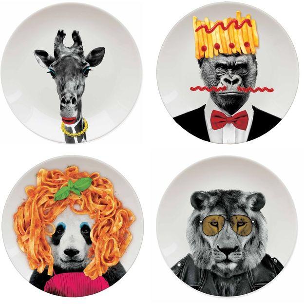 Wild Dining Teller zum selber gestalten