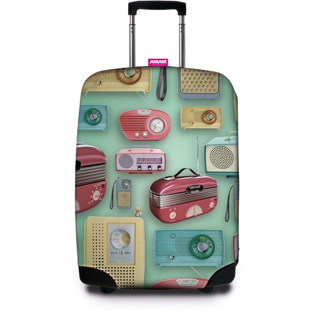 Housse de protection valise SUITSUIT Vintage