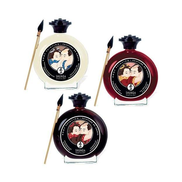 Shunga Peinture pour le Corps Comestible