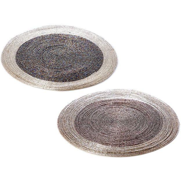 Tischsets Metallic