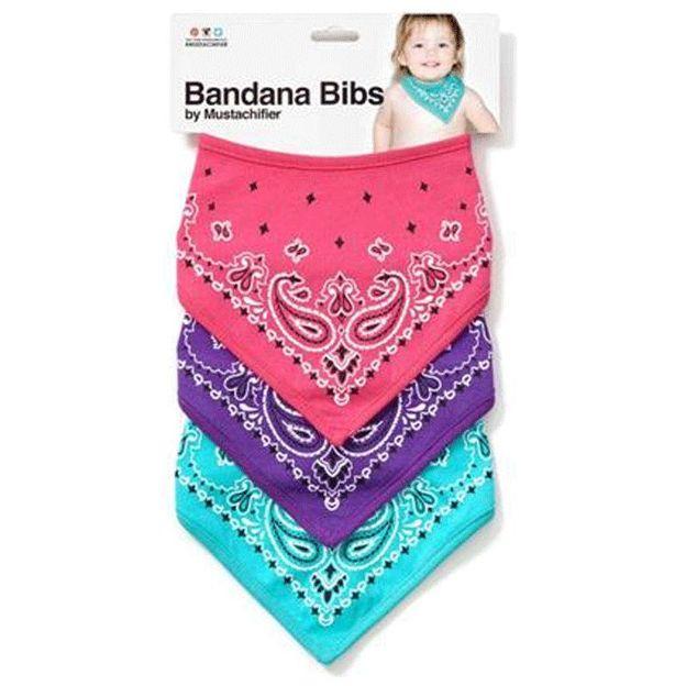 Set de 3 bandanas pour bébés