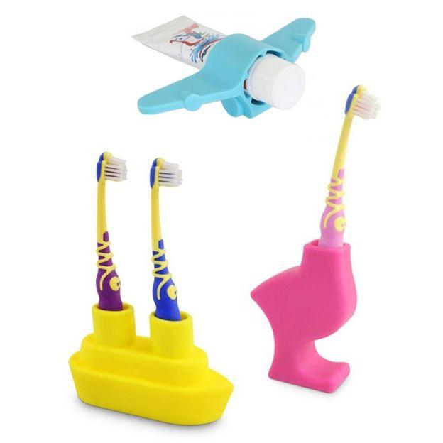 Zahnbürste-/pasta Halter für Kinder