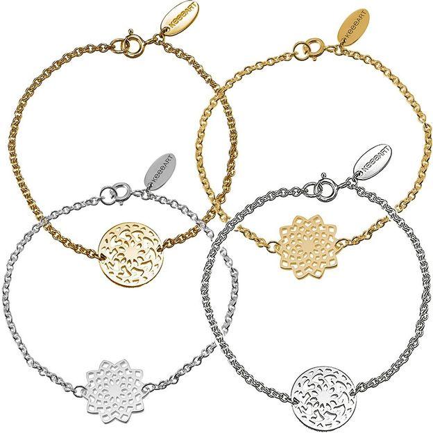 Bracelet Mojo Mandala en argent ou or