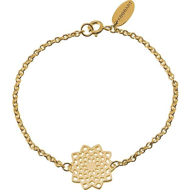 Armband Mojo Mandala in silber und gold