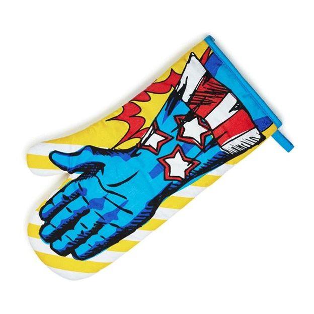 Superhelden Ofen Handschuhe