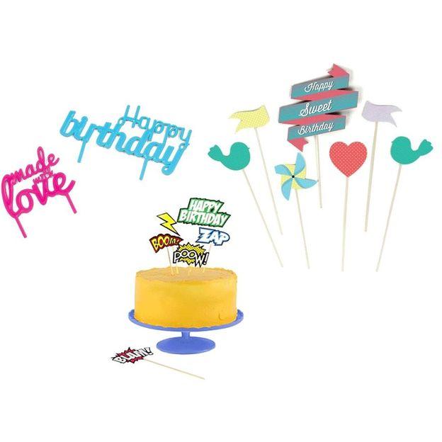 Kit décor gâteau